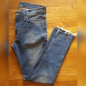 BDG Skinny Cutoff Stretch Jeans Cropped 30